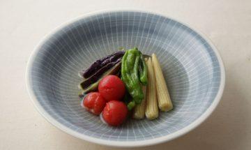 s_(金色昆布つゆ)夏野菜の煮びたし L 13413