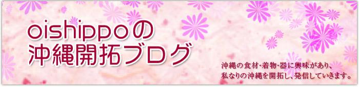 oishippoの沖縄開拓ブログ
