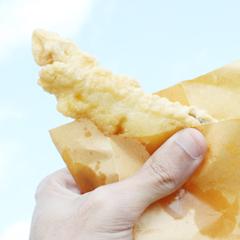 沖縄の天ぷらは重たい