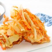 天ぷらの中身は食べてからのお楽しみ♪
