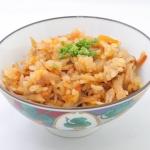 アワビタケの五目炊き込みご飯 - 沖縄料理レシピなら おきレシ
