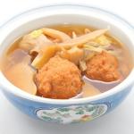 アワビタケと肉団子のスープ煮 - 沖縄料理レシピなら おきレシ