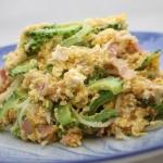 ゴーヤー入り芋くずチャンプルー - 沖縄料理レシピなら おきレシ