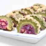 紅いものゴーヤー詰め - 沖縄料理レシピなら おきレシ