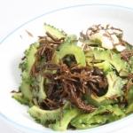 ゴーヤーとひじきの酢の物 - 沖縄料理レシピなら おきレシ