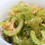 ゴーヤーとオゴノリのあえもの - 沖縄料理レシピなら おきレシ