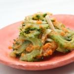 ゴーヤーのサラダ - 沖縄料理レシピなら おきレシ