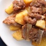 ソーキ骨のパインアップル煮 - 沖縄料理レシピなら おきレシ