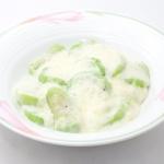 ヘチマのホワイトソースあえ - 沖縄料理レシピなら おきレシ