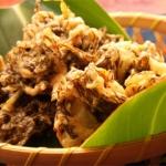モズクと野菜のかき揚げ - 沖縄料理レシピなら おきレシ