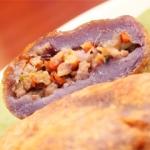 紅芋マッシュの包み揚げ - 沖縄料理レシピなら おきレシ