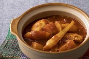 沖縄冬野菜のスープカレー