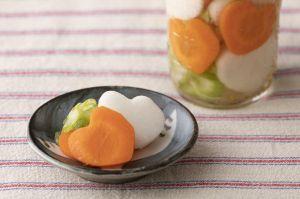 季節野菜のハートピクルス